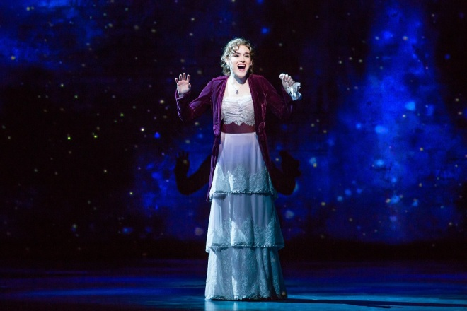 Christine Dwyer as Sylvia Llewelyn Davies in Finding Neverland Credit Jeremy Daniel IMG_3851