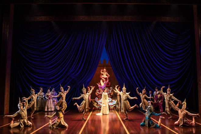 The cast of Rodgers & Hammerstein's The King and I. Photo by Matthew Murphy